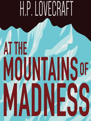 cover image of At the Mountains of Madness