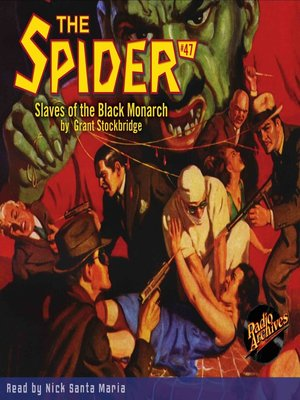 cover image of The Spider #47