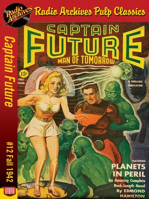 cover image of Captain Future #12