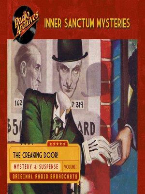cover image of Inner Sanctum Mysteries, Volume 1