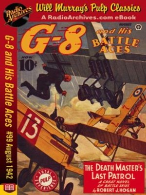 cover image of G-8 and His Battle Aces #99