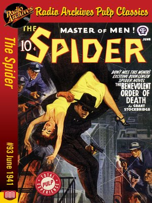 cover image of The Spider #93