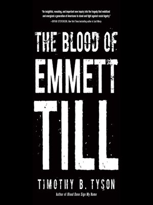 cover image of The Blood of Emmett Till