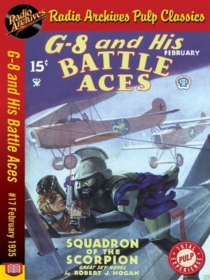 cover image of G-8 and His Battle Aces #17