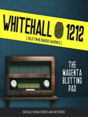 cover image of Whitehall 1212: The Magenta Blotting Pad