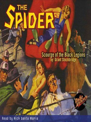 cover image of The Spider #62