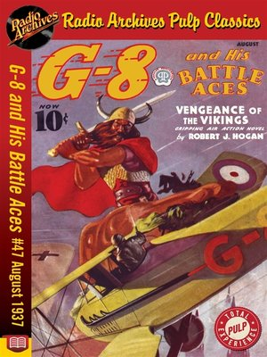 cover image of G-8 and His Battle Aces #47