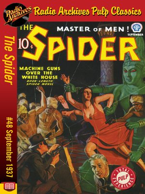 cover image of The Spider #48