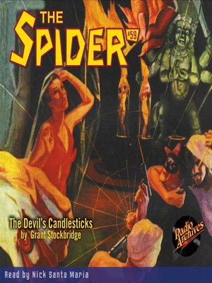 cover image of The Spider #59