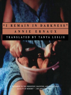 cover image of I Remain in Darkness