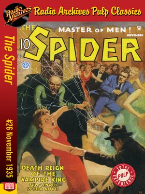 cover image of The Spider #26