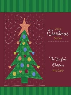 cover image of The Burglar's Christmas