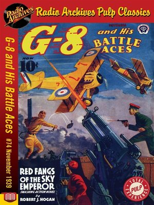 cover image of G-8 and His Battle Aces #74
