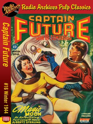 cover image of Captain Future #16