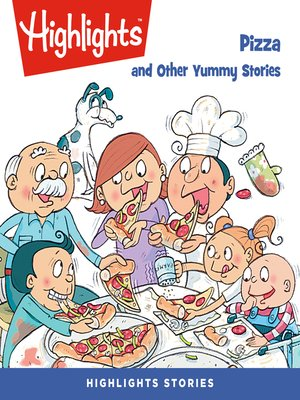 cover image of Pizza and Other Yummy Stories