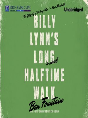 cover image of Billy Lynn's Long Halftime Walk