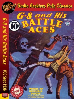 cover image of G-8 and His Battle Aces #36