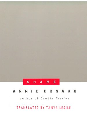 cover image of Shame