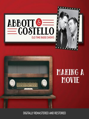 cover image of Abbott and Costello: Making a Movie