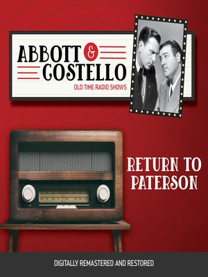 cover image of Abbott and Costello: Return to Paterson