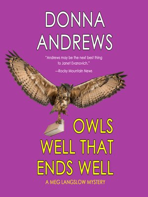 cover image of Owls Well That Ends Well