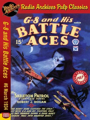cover image of G-8 and His Battle Aces #6
