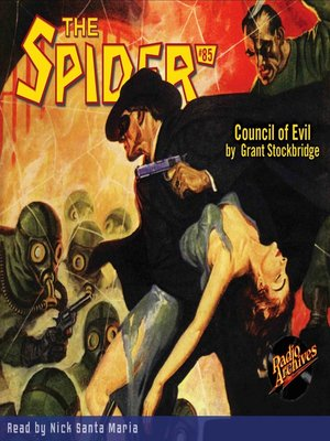 cover image of The Spider #85