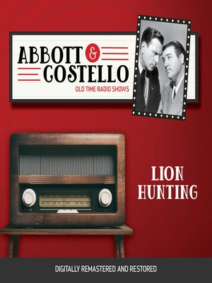 cover image of Abbott and Costello: Lion Hunting