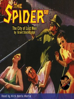 cover image of The Spider #53