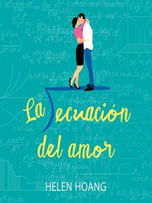 cover image of La ecuación del amor