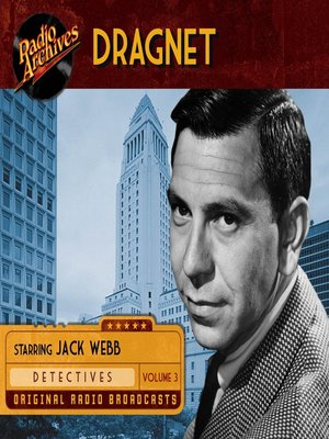 cover image of Dragnet, Volume 3