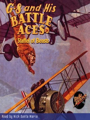 cover image of G-8 and His Battle Aces #24