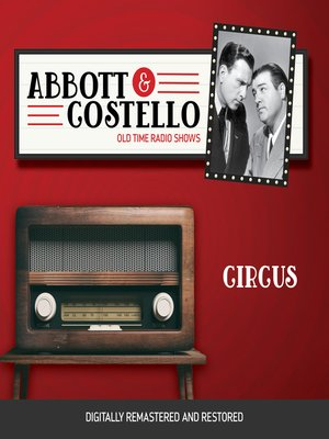 cover image of Abbott and Costello: Circus