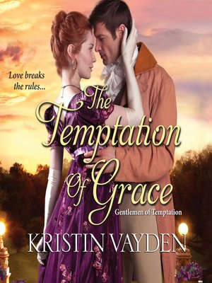 cover image of The Temptation of Grace