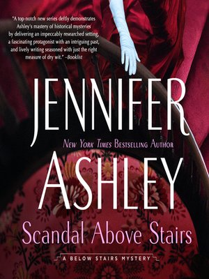 cover image of Scandal Above Stairs
