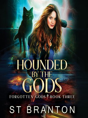 cover image of Hounded by the Gods