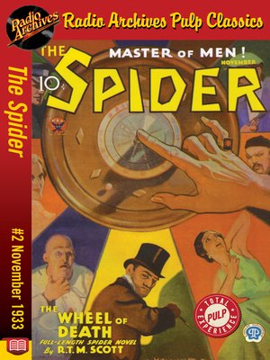 cover image of The Spider #2