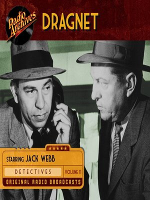 cover image of Dragnet, Volume 11