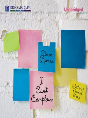 cover image of I Can't Complain