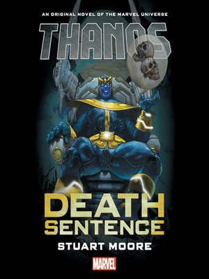 cover image of Thanos: Death Sentence