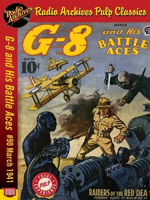 cover image of G-8 and His Battle Aces #90