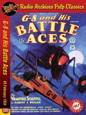 cover image of G-8 and His Battle Aces #5