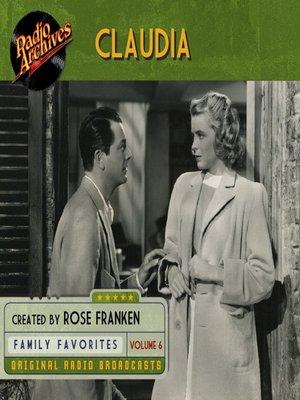 cover image of Claudia, Volume 6