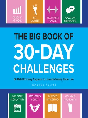cover image of The Big Book of 30-Day Challenges