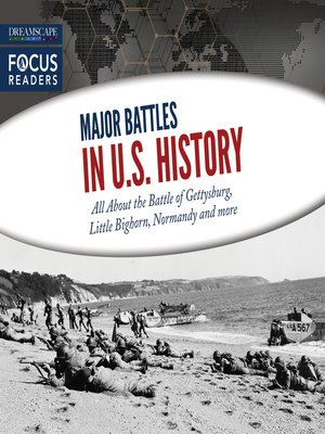 cover image of Major Battles in U.S. History