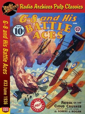 cover image of G-8 and His Battle Aces #33