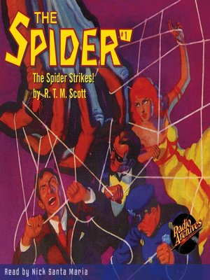 cover image of The Spider #1