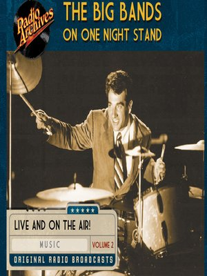 cover image of Big Bands on One Night Stand, Volume 2