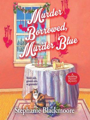 cover image of Murder Borrowed, Murder Blue