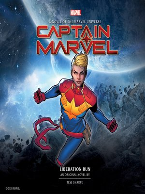 cover image of Captain Marvel: Liberation Run